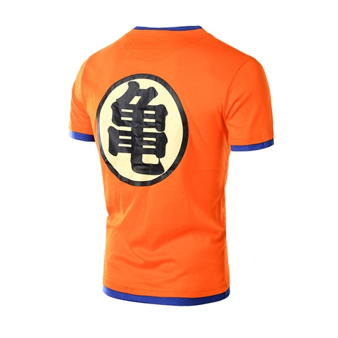 Image of Dragon Ball T-Shirt Short Sleeve Cotton