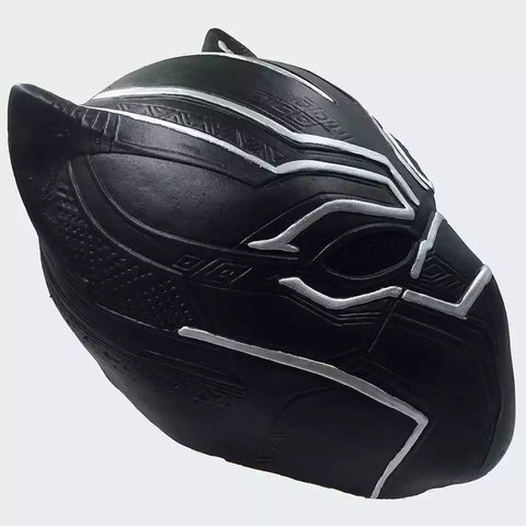 Image of Black Panther Cosplay Mask and Gloves latex ( Captain America Civil War) - Anime Hero Shop
