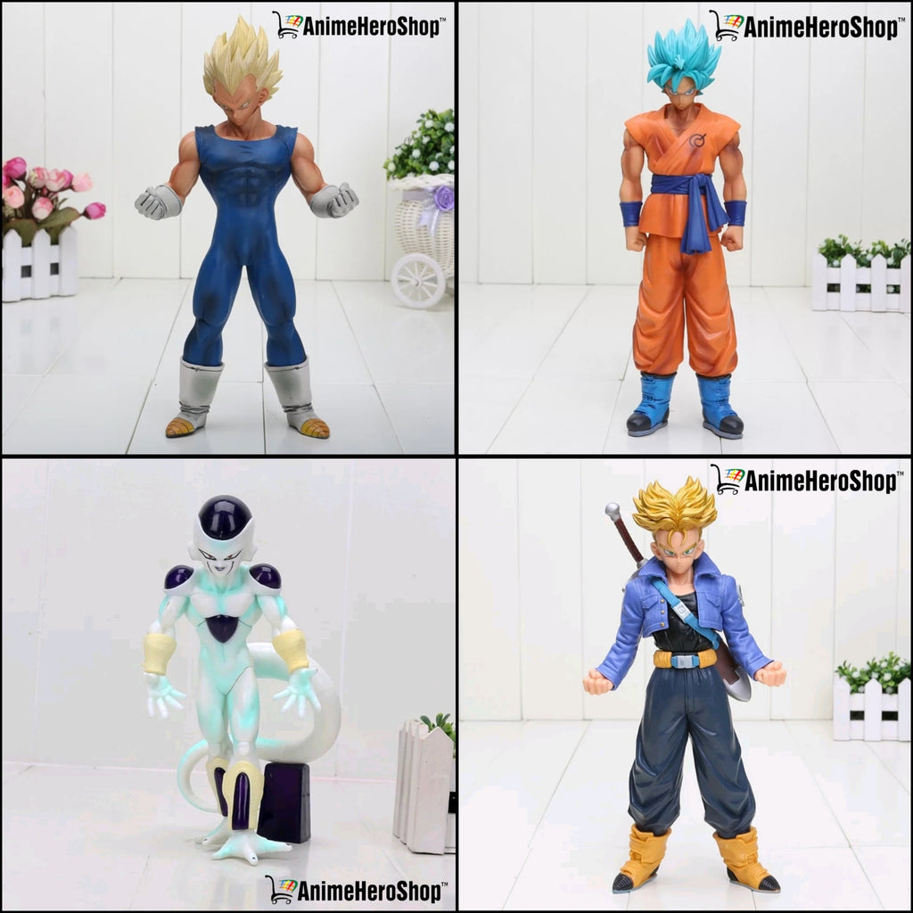 19-30 CM DBZ Vegeta,Trunks, Goku, and Frieza PVC Figure