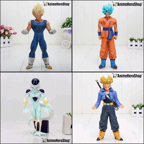 Image of 19-30 CM DBZ Vegeta,Trunks, Goku, and