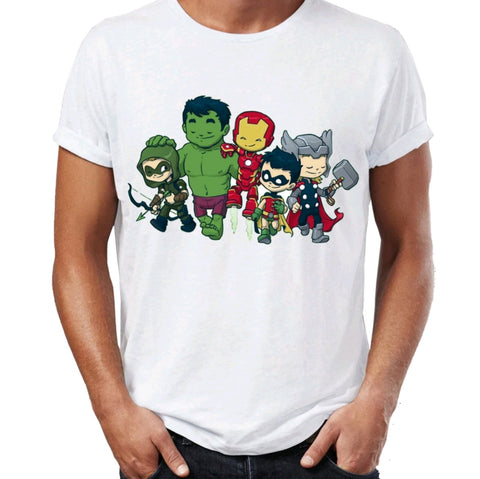 Avengers ENDGAME Movie Men's Tshirts Awesome Artwork printed Tee