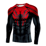 New Black Spider T-shirt 3D Print Superhero Compression Shirt Spider Man T-Shirts - Anime Hero Shop