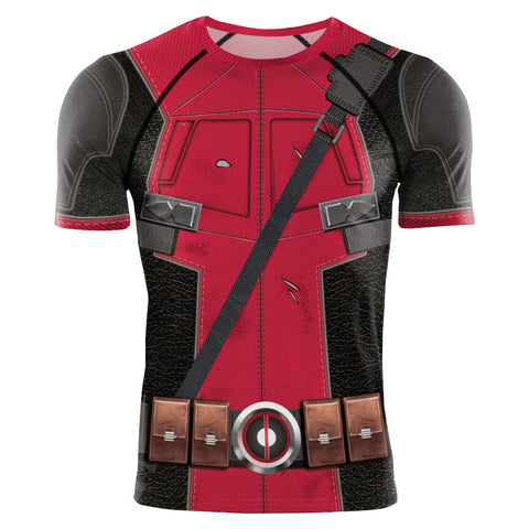2020 Super Hero Deadpool Suits Cosplay 3D Printed T-Shirts - Anime Hero Shop