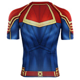Captain Marvel Carol Danvers Cosplay 2019 Marvel Movie T-Shirts