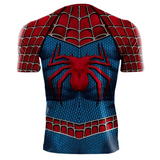 Spiderman Cosplay Superhero Fitness 3D Printed Compression Shirts BodyBuilding Clothing Tops - Anime Hero Shop
