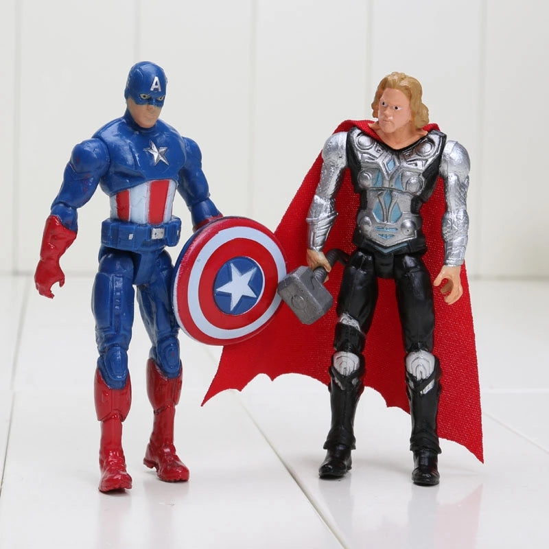 6pcs/set 8-10cm The Avengers action figure set - Anime Hero Shop