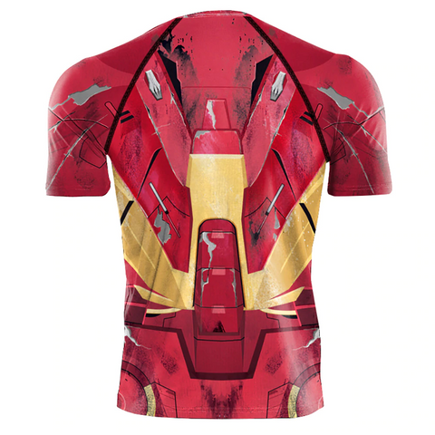 Image of 2019 Ironman 2 Avengers 3D printed Compression Shirts Cosplay Costume - Anime Hero Shop
