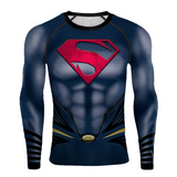 Superman The Strongest Hero DC Superhero 3D Print Compression T-shirts - Anime Hero Shop