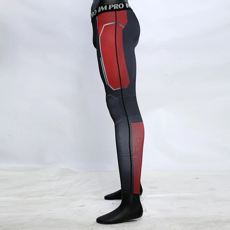 Antman Avengers 4 Endgame Quantum War Compression Tights Pants