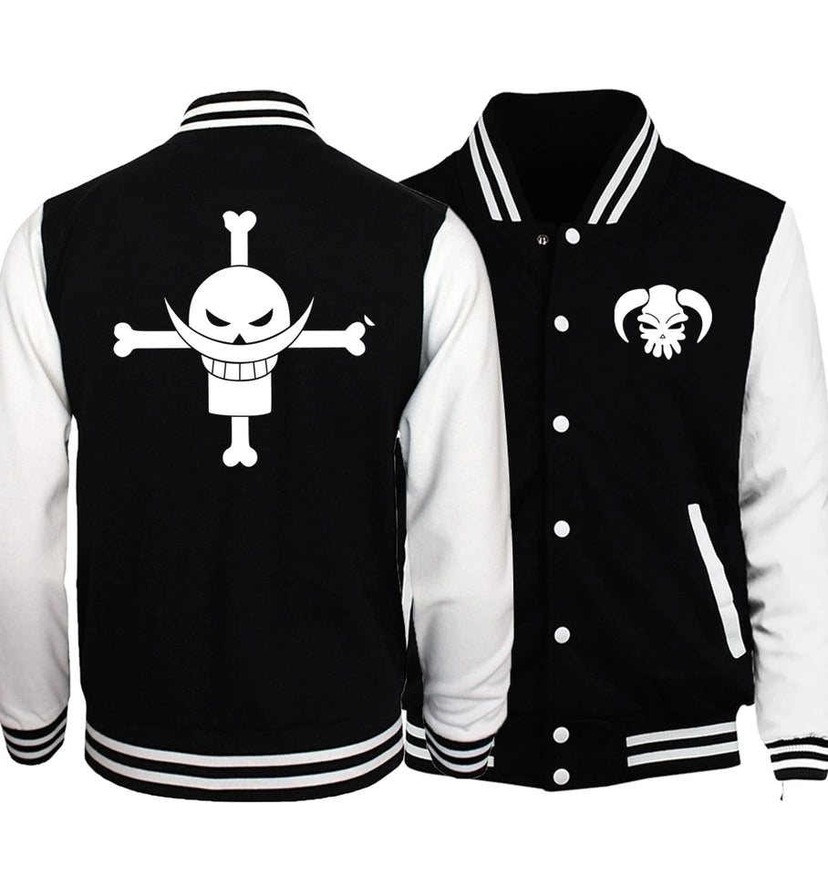 One Piece Baseball  jackets spring autumn tracksuits men women hoodies - Anime Hero Shop