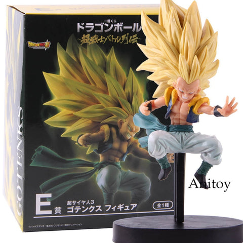 Image of Anime Dragon Ball Super Saiyan Gotenks  SSJ3 PVC Action Figure 17cm - Anime Hero Shop