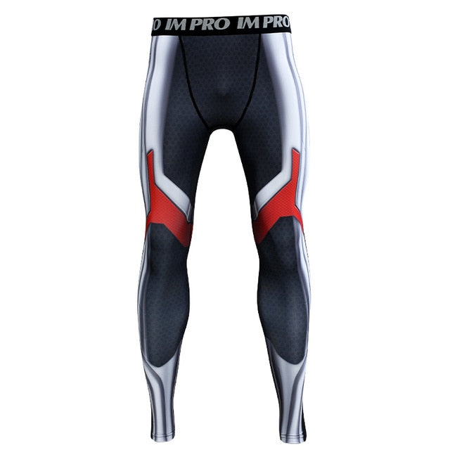 137faa61e3674 Avengers 4 Endgame Quantum Realm Compression Tights Pants for Men. Tap to  expand