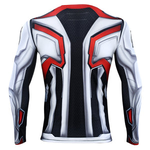 Avengers 4 Endgame Quantum Realm Compression T-shirts for Men - Anime Hero Shop