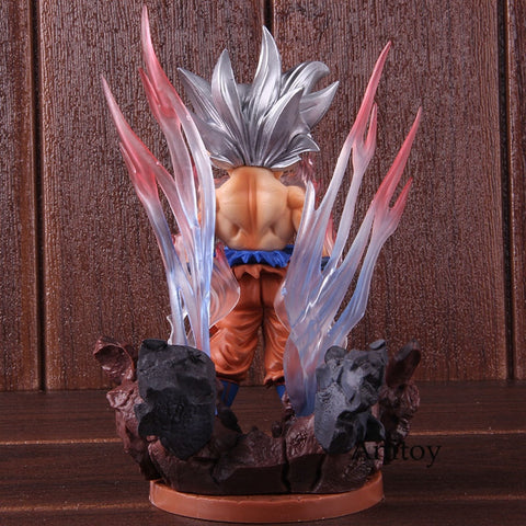 Image of Dragon Ball SUPER SD Son Goku Ultra Instinct Figure - 19cm - Anime Hero Shop