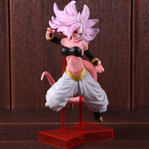 Image of Dragon Ball Super Android 21 PVC Action Figure Majin Buu Female 22cm - Anime Hero Shop