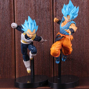 Dragon Ball Super Broly Vegeta Son Goku Super Saiyan Blue PVC - 19-24cm - Anime Hero Shop