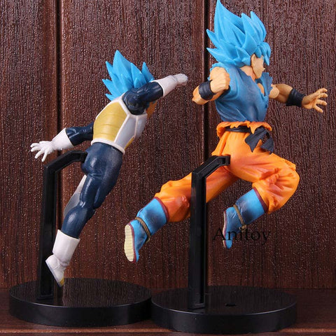 Image of Dragon Ball Super Broly Vegeta Son Goku Super Saiyan Blue PVC - 19-24cm - Anime Hero Shop