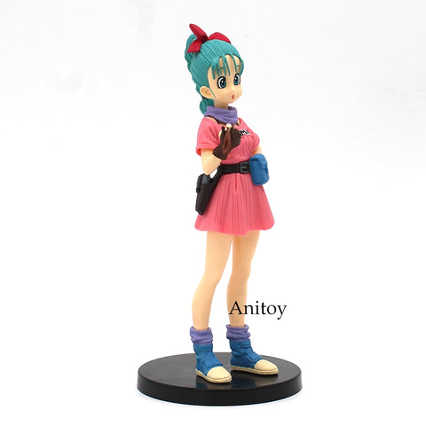 Image of Dragon Ball Z Bulma PVC Action Figure Collectible Model Toy 17cm - Anime Hero Shop