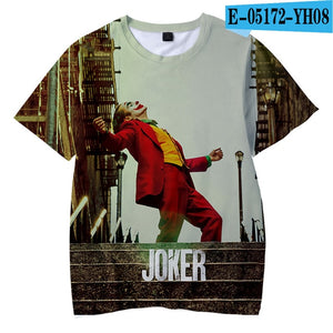 Movie Joker 2019 Joaquin Phoenix Arthur Fleck 3D print Children's wear Boy/girl kids - Anime Hero Shop