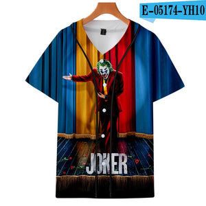Movie Joker 2019 Arthur Fleck print baseball uniform Men/Women Casual jacket Clothes - Anime Hero Shop