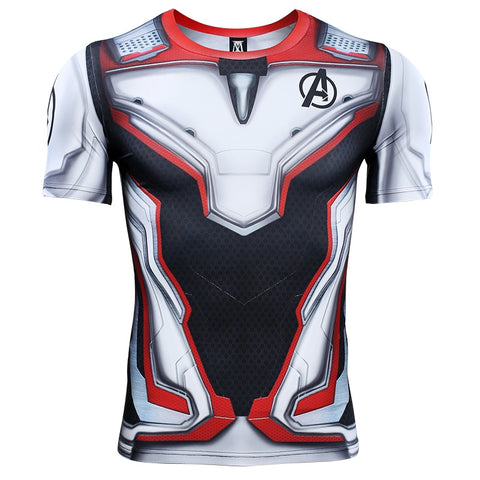 Image of Avengers 4 Endgame Quantum Realm Compression T-shirts for Men - Anime Hero Shop