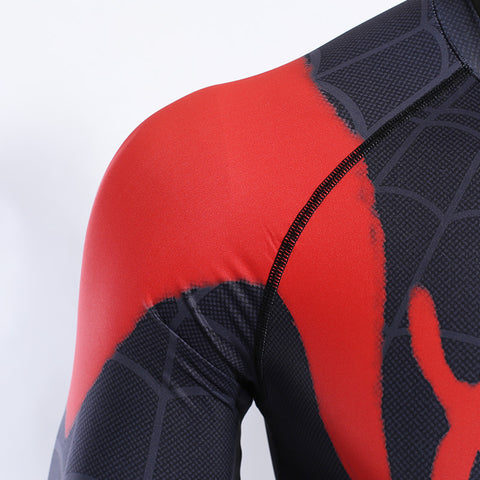 Image of Spiderman Into the Spider-Verse Long Sleeve T-shirt - Anime Hero Shop