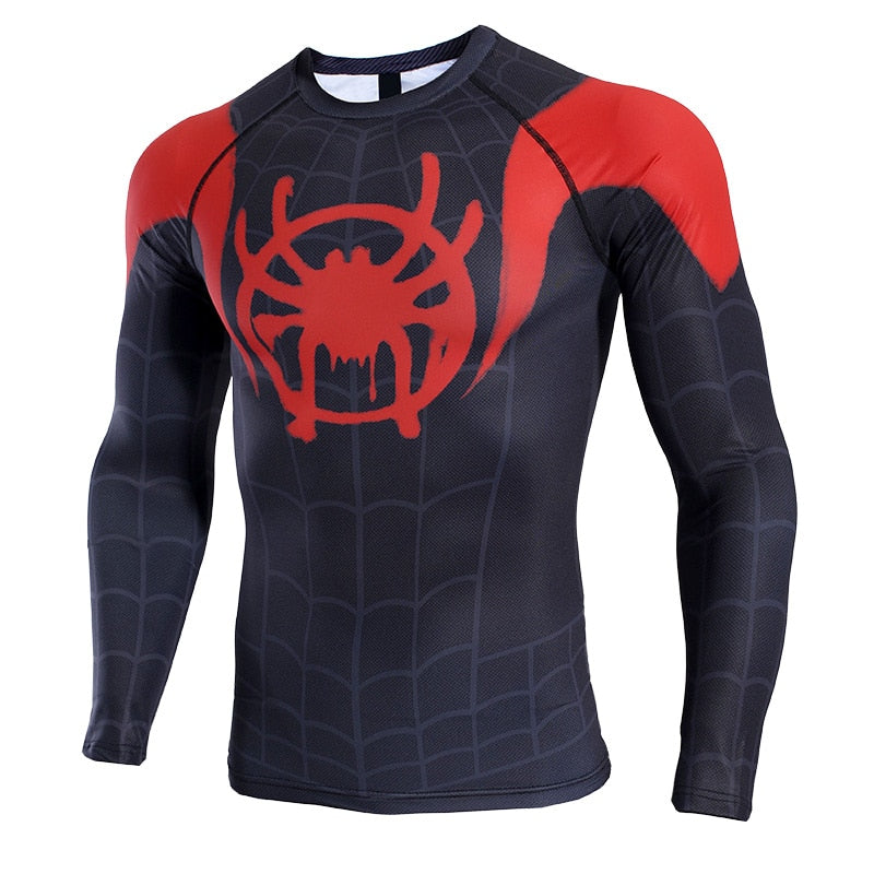 Spiderman Into the Spider-Verse Long Sleeve T-shirt