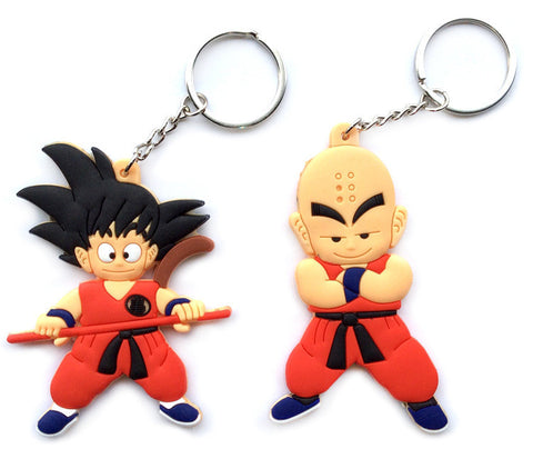 Image of DBZ Keychain Collection Silicone PVC KEYCHAIN - Anime Hero Shop