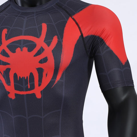 Image of Spiderman Into the Spider-Verse Short Sleeve T-shirt