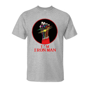 I'M Iron Man Tony Stark Infinity Gauntlet T-Shirts Avengers Endgame Movie - Anime Hero Shop