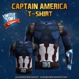 Captain America Infinity War Long Sleeve T'shirt