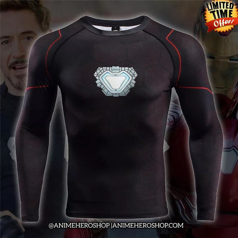 Image of Tony Stark Infinity War Long Sleeve T'shirt