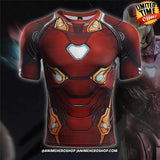 Iron Man Infinity War Short Sleeve T'shirt