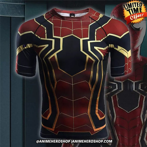 Iron Spider Infinity War Short Sleeve T'shirt
