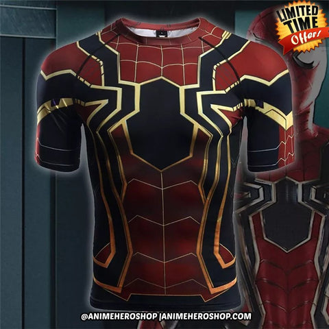 Image of Iron Spider Infinity War T'shirt - Anime Hero Shop