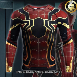 Iron Spider Infinity War Long Sleeve T'shirt - Anime Hero Shop