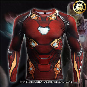 Iron Man Infinity War Long Sleeve T'shirt - Anime Hero Shop