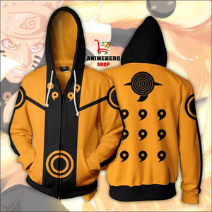 Uzumaki Naruto 3D Unisex Hoodie ( Orange ) - Anime Hero Shop