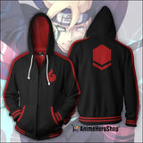 Uzumaki Boruto Zip Up Hoodie - Anime Hero Shop