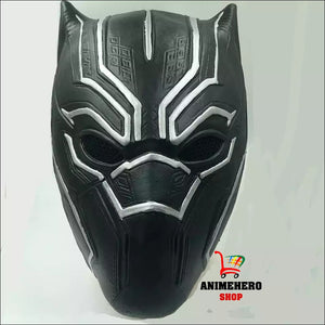 Black Panther Cosplay Mask and Gloves latex ( Captain America Civil War) - Anime Hero Shop