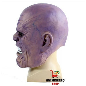 Infinity War Thanos Latex Cosplay Mask Full Face Helmet - Anime Hero Shop