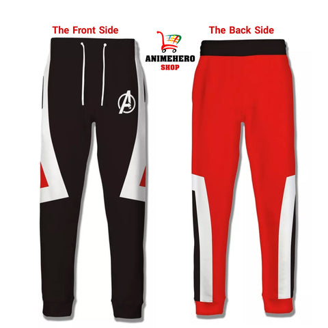 Avengers 4 Endgame Quantum Realm Unisex Casual Pants Sporty Trousers Leggings
