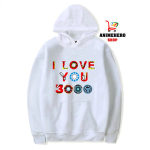 2019 Avengers Endgame Hoodie I Love You 3000 Unisex Sweatshirt Autumn Winter - Anime Hero Shop