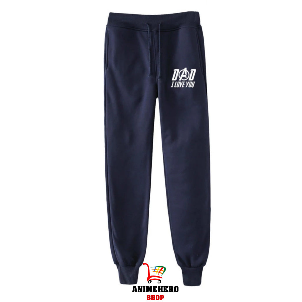 Avengers Endgame Dad I Love You 3000 Sweatpants Trousers Casual Pants