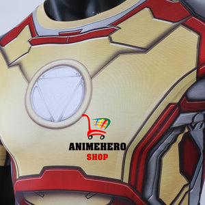 Iron Man Mark 42 Avengers Compression T-shirts & Pants - Anime Hero Shop