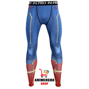 Captain Marvel Cosplay Avengers Endgame Movie Compression T-shirts & Pants - Anime Hero Shop