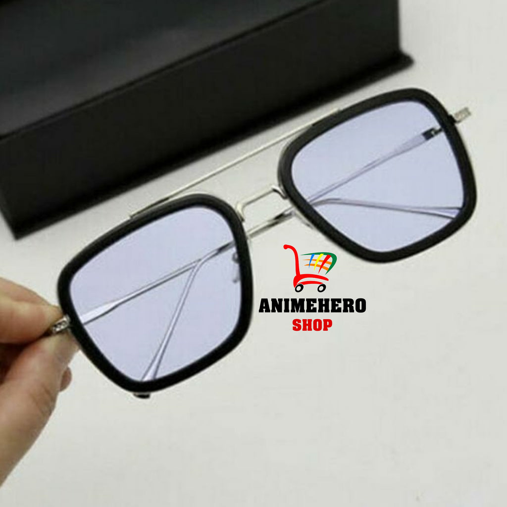 Spiderman Far From Home Iron-Man Glasses Movie 2019 Peter Parker Cosplay Spider Man Edith Sunglasses - Anime Hero Shop