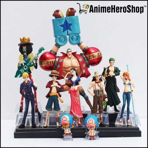 10pcs/set One Piece Action Figure Collection