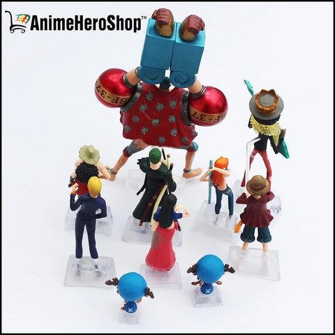Image of 10pcs/set One Piece Action Figure Collection