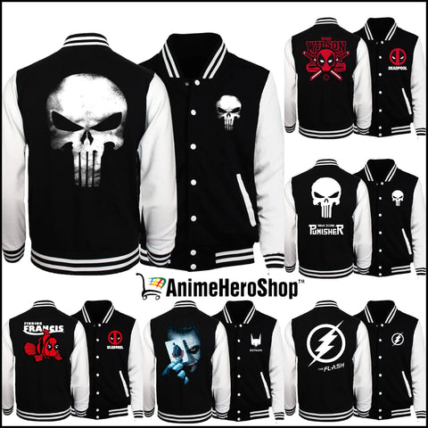 Super Hero Men Spring Bomber Jacket